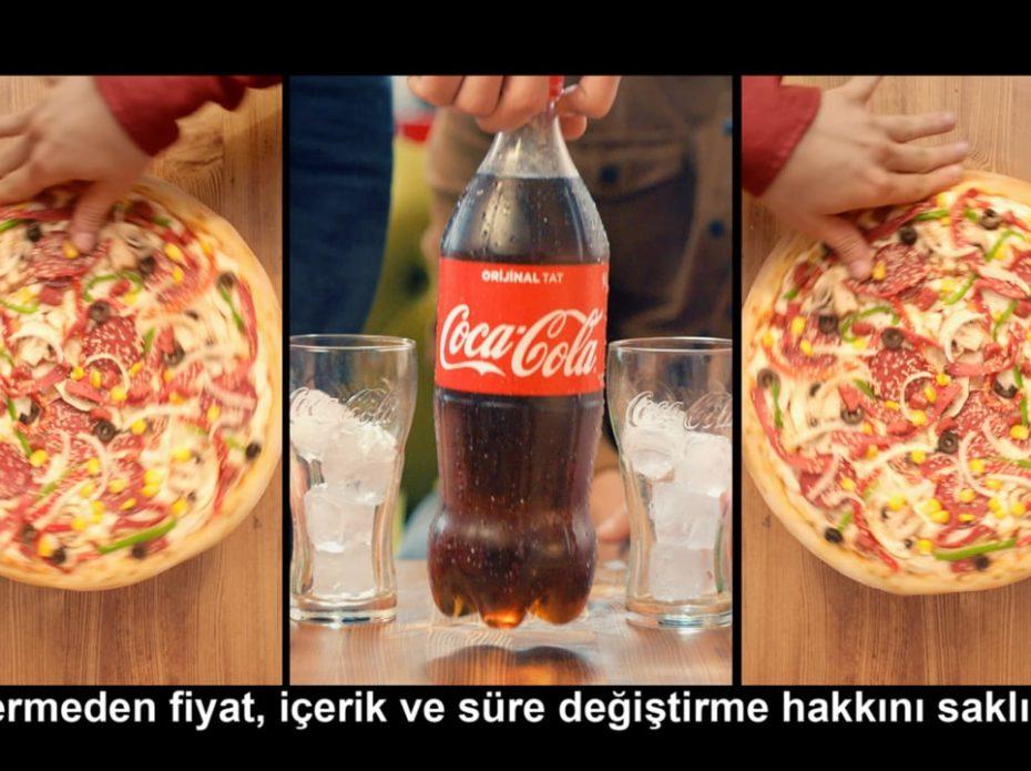 Coca Cola & Pizza Pizza // Acıktın sen galiba?