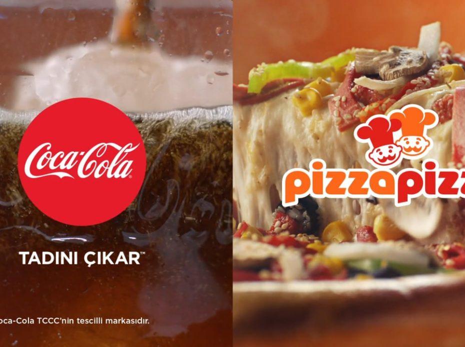 Coca-Cola & Pizza Pizza // Acıktın sen galiba?