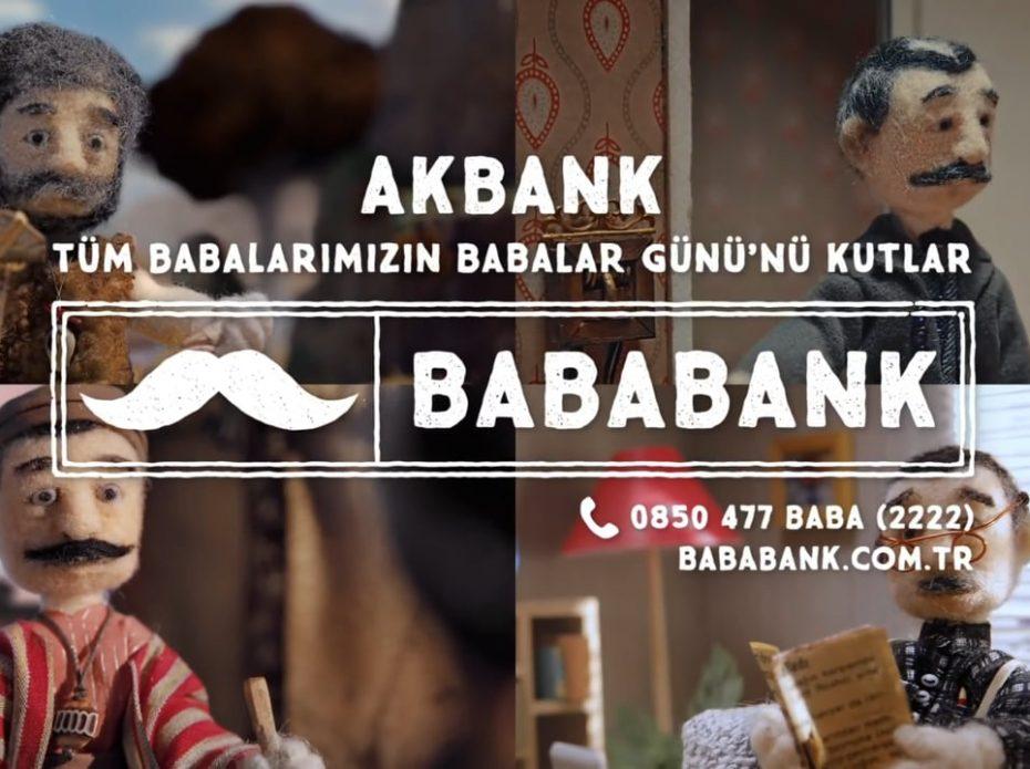 Akbank // Bababank 300.000 yaşında